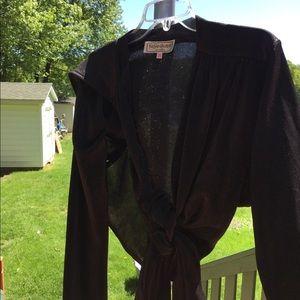 Black dressy top